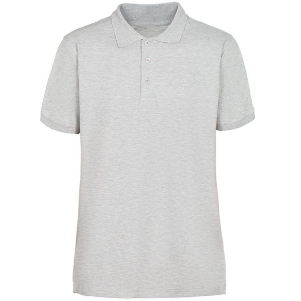 Рубашка поло мужская Virma Stretch, серый меланж