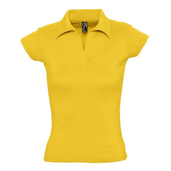 Рубашка поло женская Sol's Pretty 220, абрикосовая