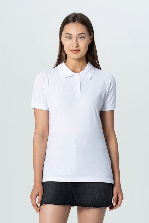 Рубашка поло женская Unit Virma Stretch Lady, серый меланж