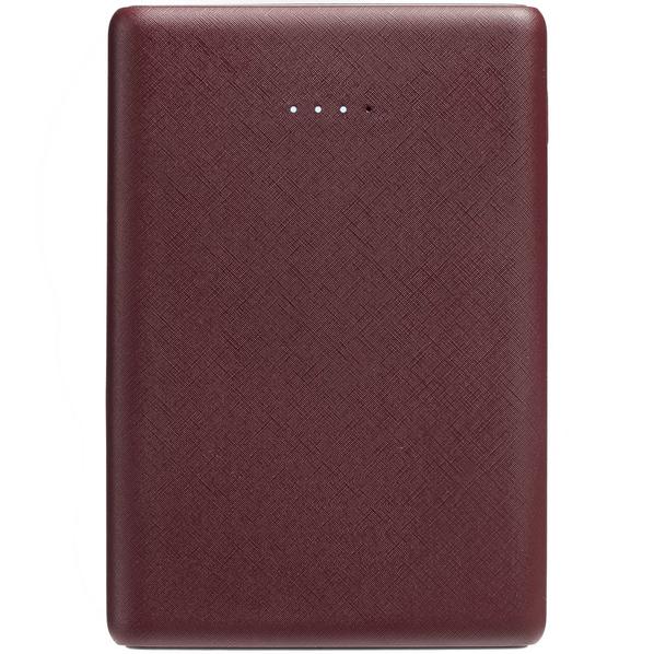 Внешний аккумулятор Uniscend Full Feel Color, 5000 mAh, бордовый