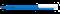 Ручка шариковая пластиковая Senator Super Hit Icy Colour-Mix, синяя / белая фото