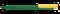 Ручка шариковая пластиковая Senator Super Hit mix&match, зеленая / желтая фото