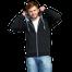 Толстовка StanCool на молнии с капюшоном мужская, черный фото