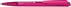 Ручка шариковая Dart Clear, прозрачный розовый фото