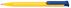 Ручка шариковая Super-Hit Icy Colour-Mix, желтый/синий фото