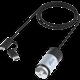 Зарядка в прикуриватель с кабелем Lighting/micro USB Ritmix RM 5240MC, черно серое