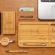 Внешний аккумулятор беспроводной XD Collection Bamboo, 4000 mAh, древесный