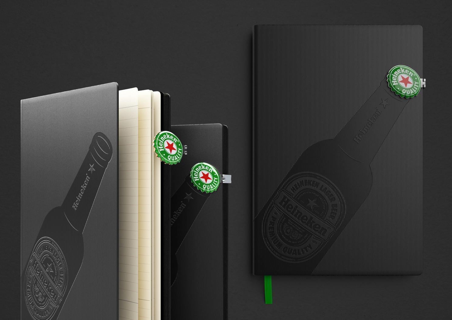 Ежедневник для Heineken